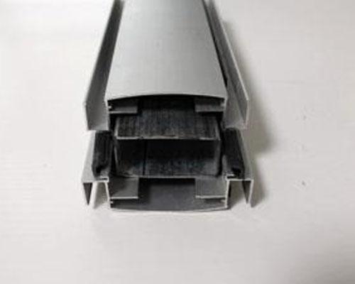 83款钢铝隔断细节